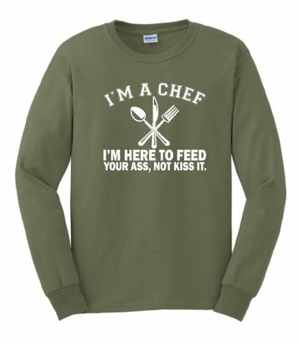 Chef Here Feed Sleeve T Shirt product image