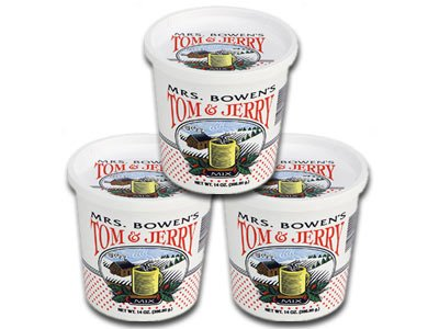 Mrs. Bowen's Tom & Jerry Mix - 3 Pack (Hot Buttered Rum Made With Ice Cream)