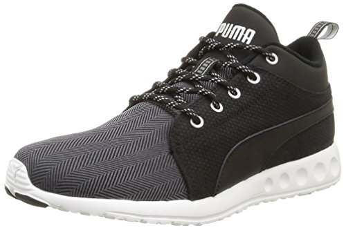 Puma Carson Mid Herring, Men's Hi-Top Sneakers Black (Periscope)