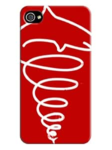 Fashionable Series New Style TPU Phone Protects Cover Skins for iphone 4,4s
