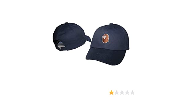 Isymeotu-PP Unisex Adjustable Fashion Leisure Baseball Hat BAPE Snapback  Dual Colour Cap at Amazon Men s Clothing store  5682495509b