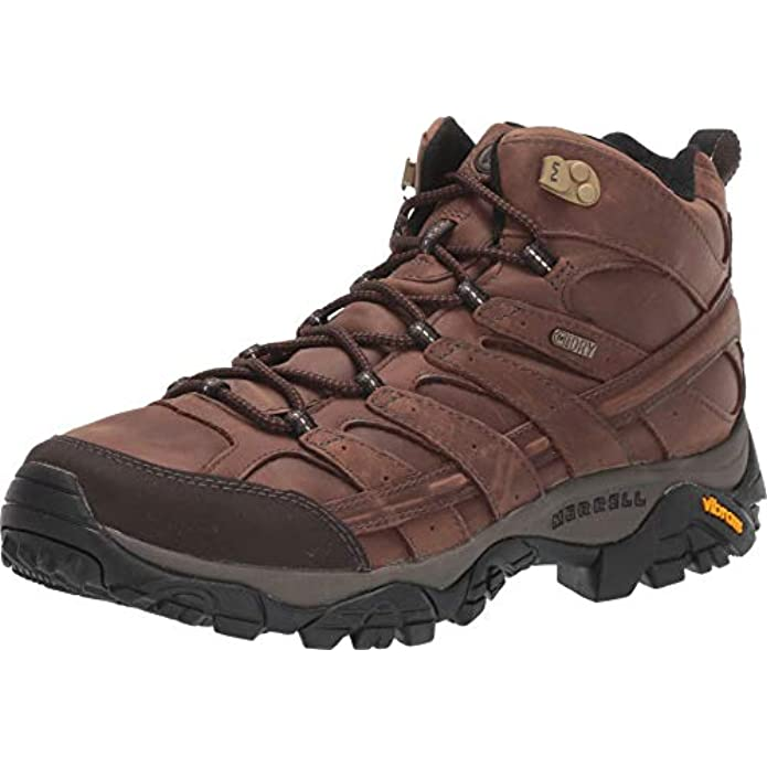 Merrell Men's Moab 2 Prime Mid Waterproof Hiking Boot