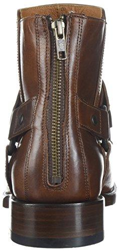 Frye Mens Weston Harness Boot 87129-cognac