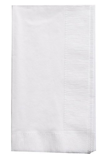 Perfect Stix White Dinner Napkin-300 2-Ply White Dinner Napkins, 0.1