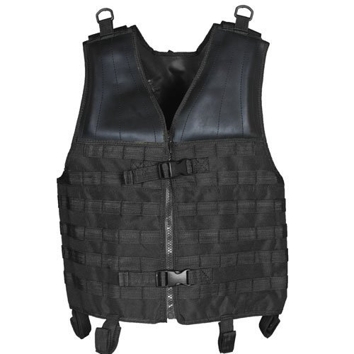 Modular Tactical Vest - (Black) by Fox Outdoor by Fox Outdoor