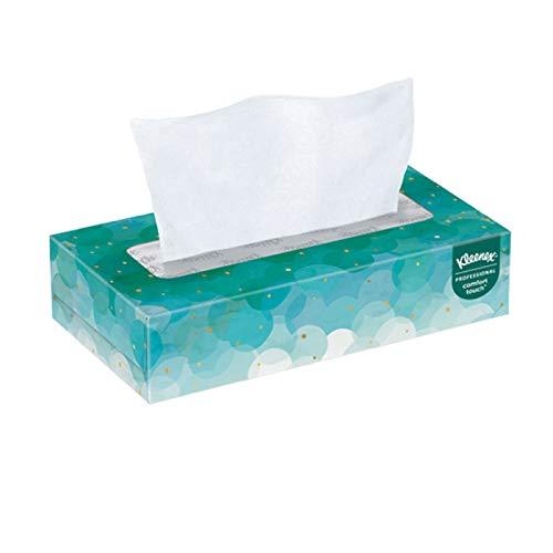 Professional Facial Tissues, 100 Tissues per Box, 6 Box