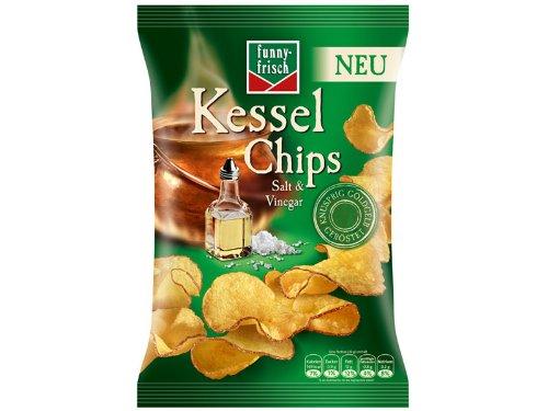 funny-frisch Kessel Chips Salt & Vinegar: Amazon.de: Lebensmittel ...
