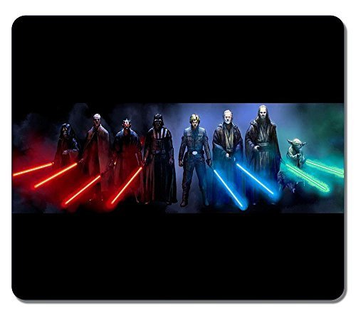 Customized Rectangle Non-Slip Rubber Large Mousepad Ws Star Wars Sith And Jedi Water Resistent Gaming Mouse Pad Large Mousepad Gaming Pad Large Mouse Pads