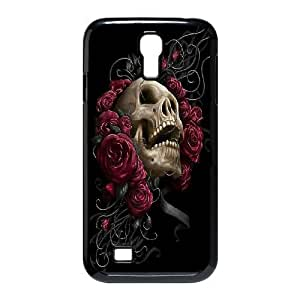 Cell phone case Of Sugar Skull Bumper Plastic Hard Case For Samsung Galaxy S4 i9500