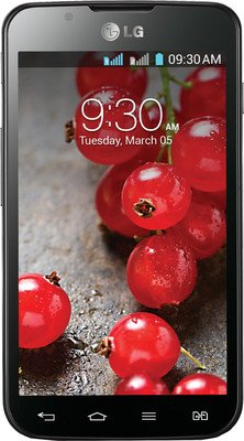 LG OPTIMUS L7 II DUAL P715 Factory Unlocked International Version - BLACK (No-Warranty) by LG