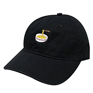 Noodles Embroidered Dad Hat 100% Cotton Baseball Cap For Men And Women