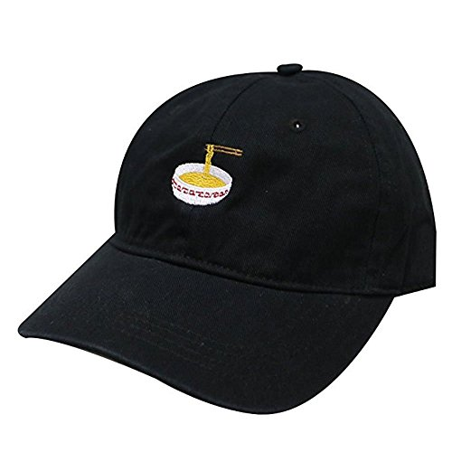 Dad Baseball (Noodles Embroidered Dad Hat 100% Cotton Baseball Cap For Men And Women)