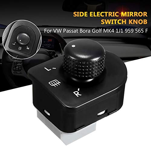 Gift-4Car - 1Pc Left Side Control Master Adjust Knob Side Mirror Switch Button For VW Jetta Golf Mk4 Beetle Bora Passat 1J1959565F 1998-2006