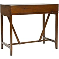 Safavieh American Homes Collection Wyatt Dark Teak Writing Desk