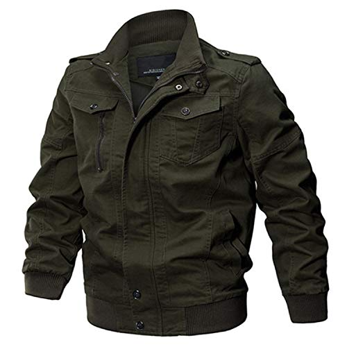 Military Jacket Men Cotton Pilot Jacket Coat Army Men's Bomber Jackets Cargo Flight Jacket Male 6XL 4 L