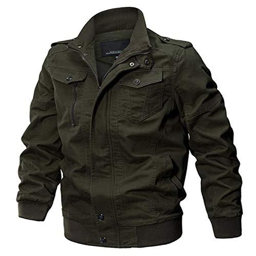 - Military Jacket Men Cotton Pilot Jacket Coat Army Men's Bomber Jackets Cargo Flight Jacket Male 6XL 4 L