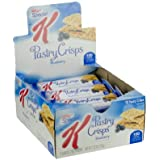 Kellogg's Special K Pastry Crisps Bar, Blueberry, 7.92 Ounce (Pack of 81)