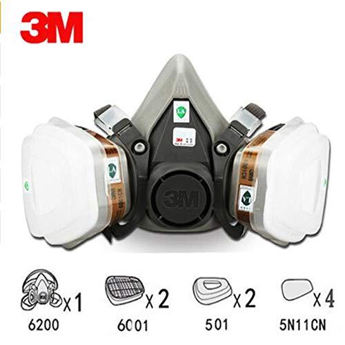 Gas Con com 6200 - Amazon Filtro 3m Máscara 9in1 De Pintura