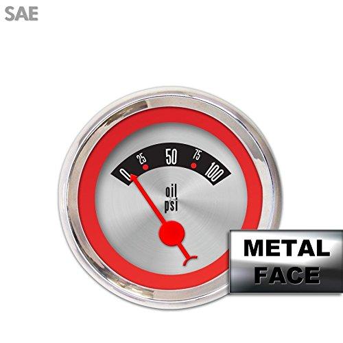 GAR268ZMARABCC Vintage Autobahn Ash 6-Piece Gauge Set with Emblem Aurora Instruments
