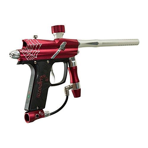 Azodin Blitz Evo Electronic Paintball Marker Gun - Red/Silver - Azodin Paintball