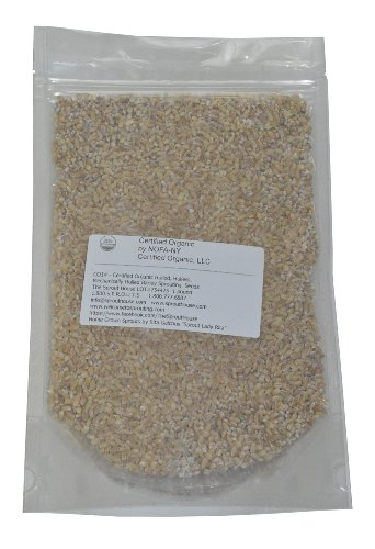 The Sprout House Organic Non-gmo Hulled Barley 1 Pound - Not As Processed As Pearl Barley - Used in Alyssa Cohen Recipes and for Japanese/ Korean roasted barley tea