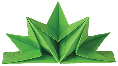 Now Designs Origami Paper Napkins, Bright Green