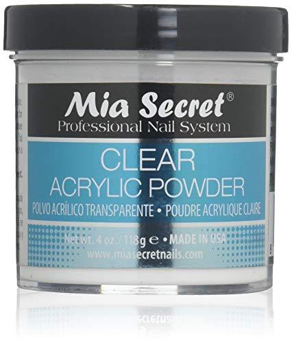 (Mia Secret Clear Acrylic Powder 2oz)