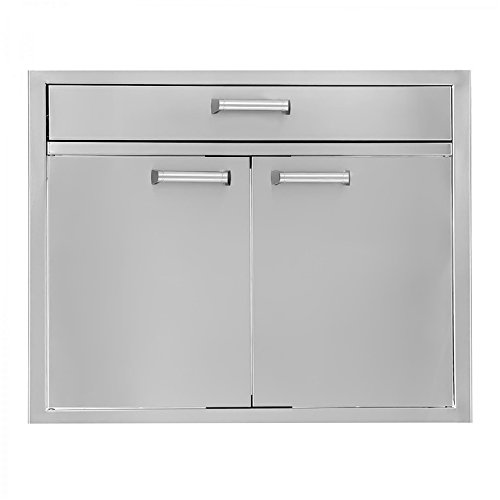 eries 30-inch Stainless Steel Double Door & Single Drawer Combo ()