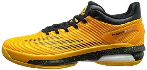 Adidas Crazylight Boost Lo Basketballschuhe, Scar/Blk/Red, 42m