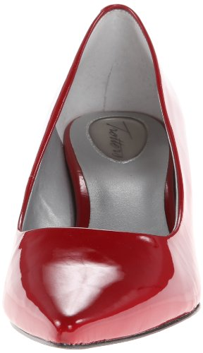 Trotters Womens Paulina Pump Rosso Patent
