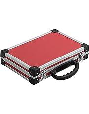 Extra smalle aluminium frame koffer gereedschapskoffer beschermende koffer opslag rood