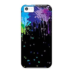 YRJ45703MOdo Anti-scratch Cases Covers Finleymobile77 Protective Spattered Paints Cases For Iphone 5c