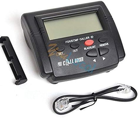 FidgetKute - Bloqueador de Llamadas entrantes para teléfono Fijo (1500 números de teléfono): Amazon.es: Electrónica