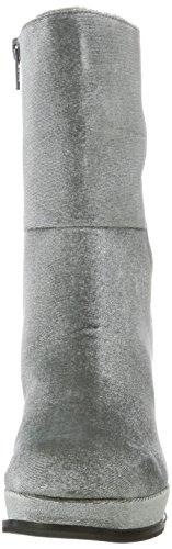 Botas Grey Boots Dark Mujer Gris 17 Bianco para Plateau pAgCwqExF