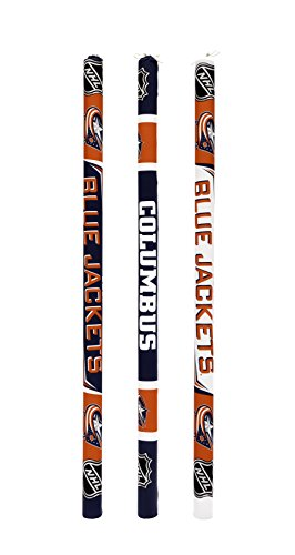 Btswim NHL Columbus Blue Jackets Pool Noodles (Pack of 3)