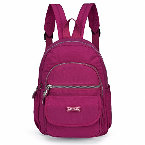 dd6b63021b9 AOTIAN Mini Nylon Casual Lightweight Women and Girls Small Backpacks Purse  Daypack Very Handy Bag for