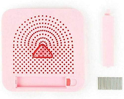 FANPING ペーパークラフト巻き戻しマシンロールスクエア工芸DIYツールのピン収納ライトガイド紙を使用した簡単なペーパーローリングマシングリッド板 (Color : Pink)