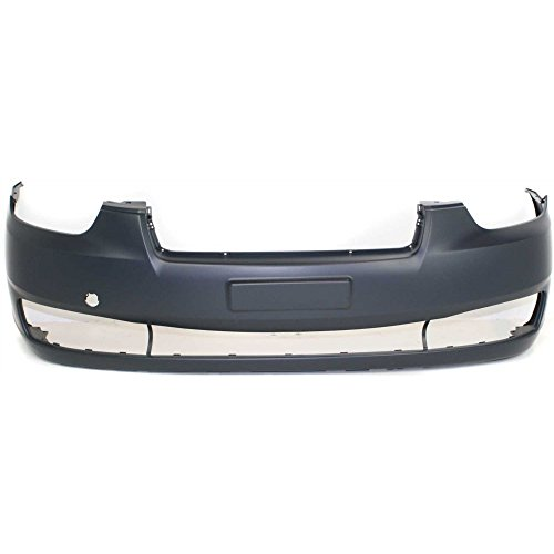 New Evan-Fischer EVA17872024695 Front BUMPER COVER Primed for 2006-2011 Hyundai (Hyundai Accent Gls)