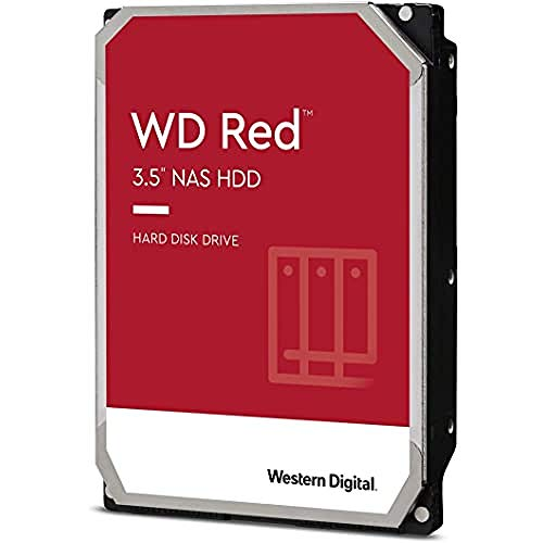 WD Rode 2 TB 3,5 inch NAS interne harde schijf, 5400 RPM, WD20EFAX