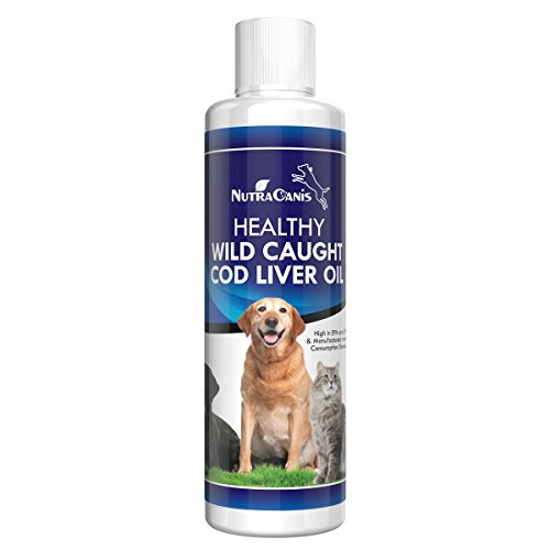 Bacon flavor cod liver fish oil for dogs and cats wild for Dog food with fish oil