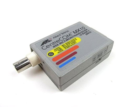 Allied Telesis ATMX-10 CentreCom MX10 IEEE 802.3 MicroTransciever from Allied Telesis