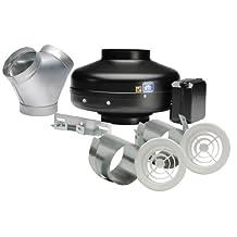 Soler & Palau KIT-PV100X-DV In-line Exhaust Fan Kit