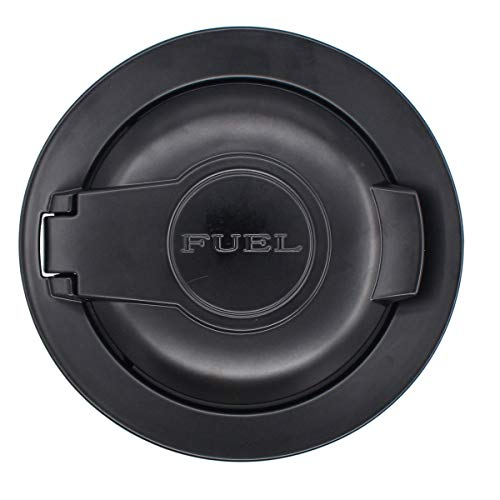 dodge challenger fuel door black - 6
