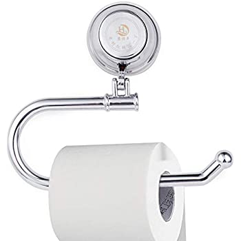 MaxHold No-Drilling/Suction Cup Toilet Paper Roll Holder