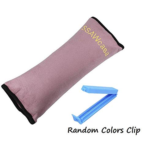 SSAWcasa Seatbelt Pillow for Kids,Car Seat Belt Cover with Clip,Vehicle...