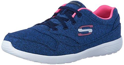 Skechers Stardust Croisement Femmes Sneakers Navy/Pink