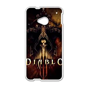Diablo For HTC One M7 Csae protection phone Case FXU300698