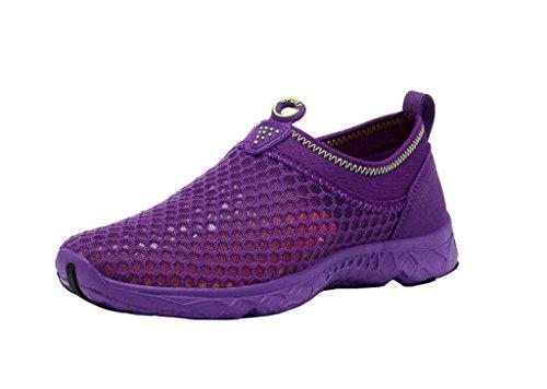 Schage Violet Pour Aquatiques Pied t Course Plage Athltiques Chaussures Combinaison Exercice D'entranement Homieco Baskets De Mocassins Loisir Femmes Rapide Randonne Respirantes gd1RwnSqx