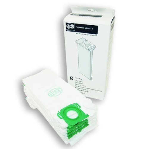 Sebo Ultrabag Vacuum Cleaner Cylinder Dust Bags Pack Of (Sebo Pack)