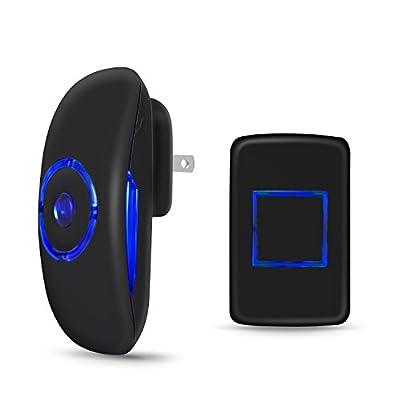 Adoric Life Wireless Doorbell Waterproof Door Bell Kit